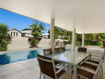 Photo for Perfect family holiday home on Noosa Sound - 3 Key Court
