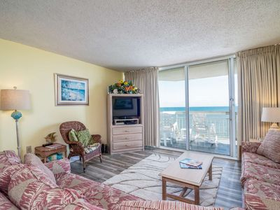 Oceanfront, Incredible Water's Edge Views with Free Water Park, Aquarium & More Every Day! WE1204