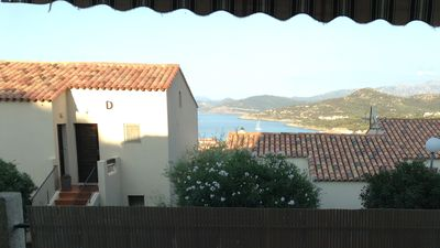 Photo for STUDIO ILE ROUSSE in quiet residence with beautiful sea view
