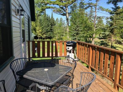 Photo for Cozy Carriage House Apartment in Town on Madeline Island - Easy Walking to Shops and Restaurants