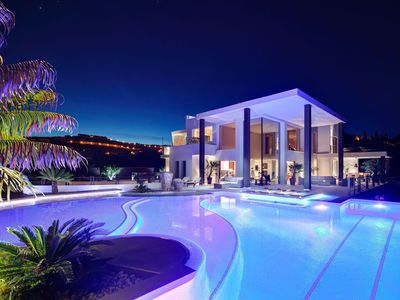 Photo for Contemporary masterpiece, unbeatable view, 8 Bedrooms Benahavís Marbella