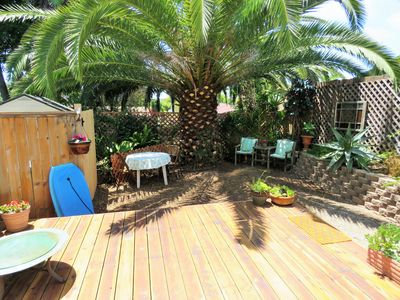 Photo for Private, Quiet, Tropical Encinitas Studio / Full Kitchen & Now With A/C!