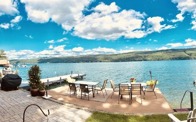 Photo for 10% OFF JULY NEW PVT. DOCKS/DECKS NEW BEDS HOUSE RIGHT ON THE WATER