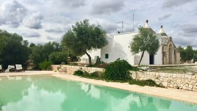 Photo for TRULLO SAN GIOVANNI: POOL, DEPENDANCE AND GREAT GARDEN