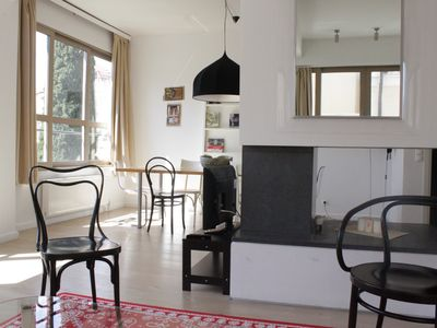 Photo for Sophisticated, large apt in Athens centre. Roof top terrace with amazing views.