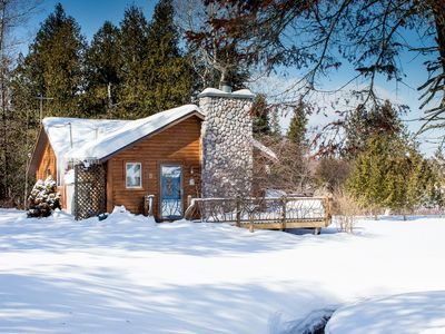 Photo for All Season Cabin on the Canal of the Indian River between Burt and Mullet Lake!
