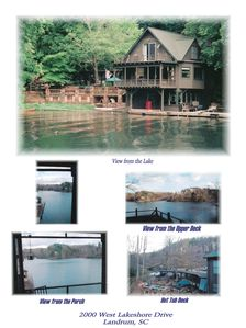 Photo for The Boathouse is located in a secluded cove on Lake Lanier .