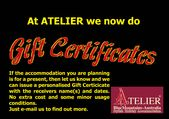 ATELIER - Stylish Holiday Accommodation with Spa & Fireplace