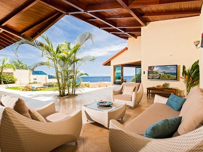 Photo for Luxury Sunset Villa with Direct Acces to the Flamingo Beach