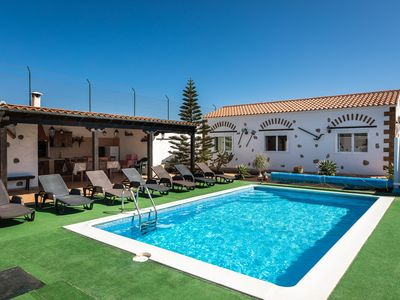 Photo for Peaceful Villa Mari Close to Natural Park with Pool, Terrace, Beautiful Views & Wi-Fi; Parking Available