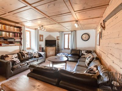 Photo for Ski Chalet Anatase classified 4 * in Vallorcine Mont Blanc, 6 bedrooms, sleeps 16