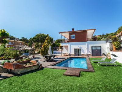 Photo for This 5-bedroom villa for up to 12 guests is located in Lloret De Mar and has a private swimming pool