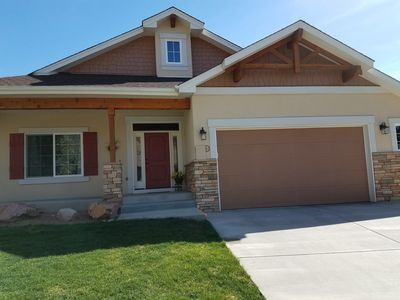 Photo for Newer Home, 4BR, 3 Bath, 4 miles to Garden of the Gods! USAFA Graduation!