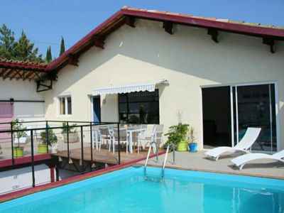 Photo for Spacious 1 bedroom converted winery with private pool and terrace (