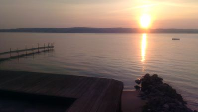 Photo for Cottage on Lake Charlevoix near Boyne City, 2nd best lake in USA!