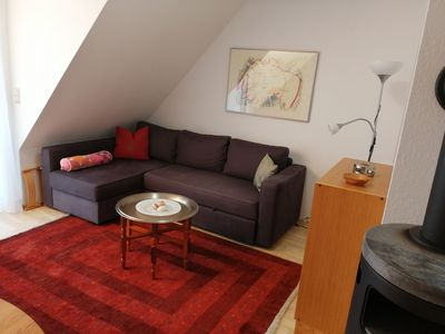 Photo for Apartment up to 5 persons / cost. WLAN / car parking space / balcony and garden