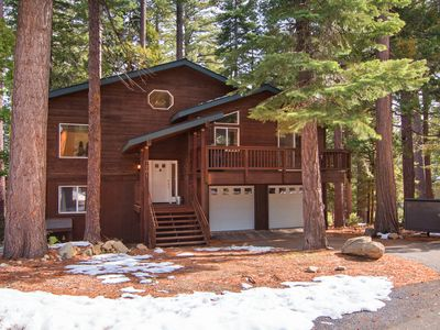 Photo for NEW LISTING!! Beautiful Cabin on the West Shore with Hottub and Two Car Garage