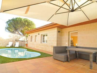 Photo for Club Villamar - Precious villa with private saltwater pool located in a quiet area, surrounded by...