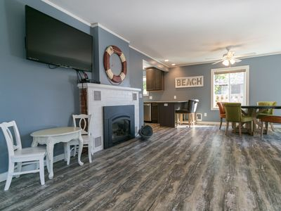 Photo for Remodeled Seaside Escape  - 2 Blocks To Beach