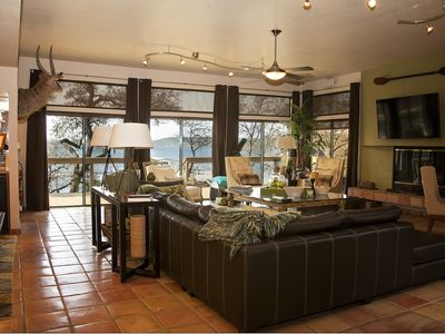 Photo for Amazing Possum Kingdom Lake Home on the Pennisula