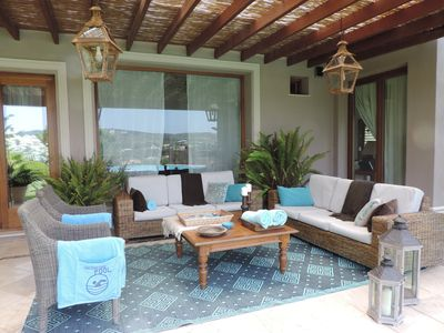 Photo for Stunning villa in golf area in Sotogrande, with open views of the La Reserva