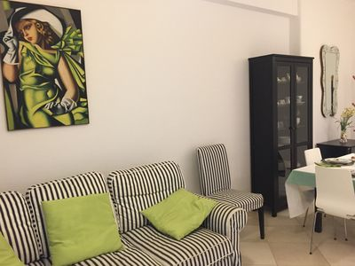 Photo for Beautiful apartment with 1 room near the sea with air conditioning and wi-fi (1)