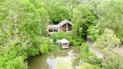 Photo for Bed and breakfast with sauna / table d'hôte / bio climate house