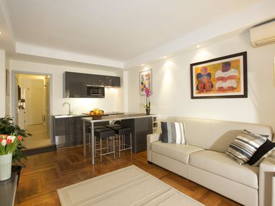 Photo for Beautiful design apartment near the beaches, the pine forest in Juan Les Pins