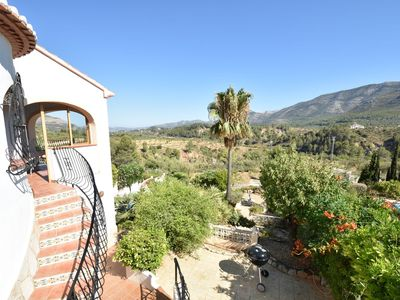 Photo for 4-person villa in top location in the mountains, with spectacular view & serenity & swimming pool
