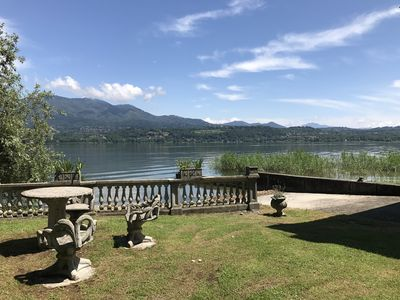 """Photo for """"Casa Magda"""" entire chalet / cottage with direct access to Lake - former boathouse"""