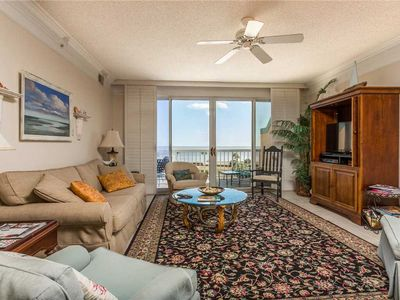 Photo for Live the Island Life at Beachfront Condominium, Plenty of Room for Multiple Families!