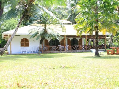 Photo for Praslin: house / villa - Praslin in front of the sea