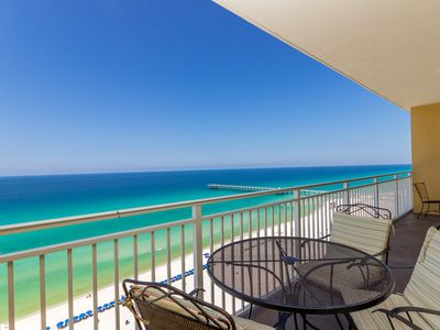 Photo for New!  Sterling Reef 1202 Is A Spacious Condo Gulf Front And Sleeps 6.