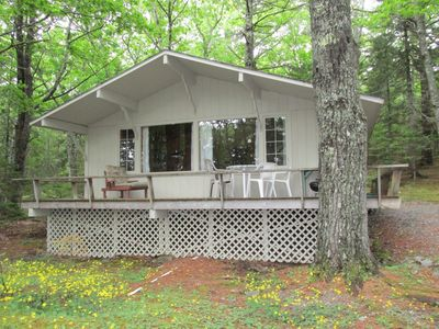 Photo for Secluded Cottage On North Coast of Mt. Desert Island