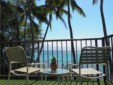 Maui-style...slow down & enjoy stunning ocean views from your wrap around lanai.