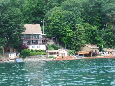 Photo for Wonderful lakefront house with something for everybody