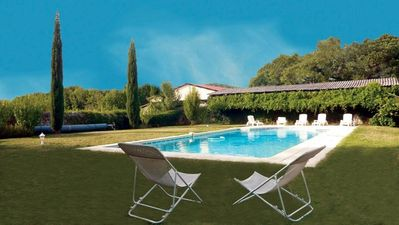 Photo for Cottage 5 ps. 2 cres. Swimming pool. Center Drôme, ideal to discover Drome and Ardeche