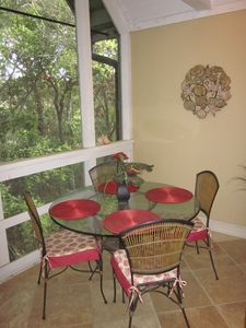 Relax and enjoy the wonderful wildlife Kiawah has on the updated screen porch