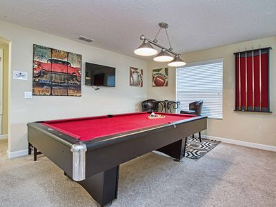 Photo for PROFESSIONALLY DECORATED, 2 MASTER SUITES, PRIVATE POOL AND GAME ROOM!!