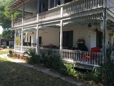 Photo for Cozy Old Victorian Downstairs - 5 min Walk to Fort, Downtown, Shops, Ent., etc.
