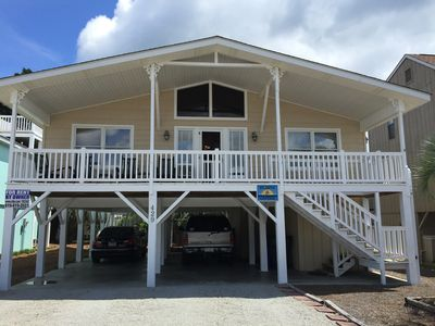 Photo for ATLANTIC COTTAGE:  Short Walk to Beach-Linens & Towels Included 4 Weekly rentals
