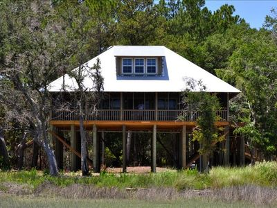 Photo for New Large Luxury Cottage on Sapelo Island with Ocean View