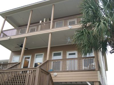 Photo for Waterfront with 2 Master Suites Pool, Hot tub