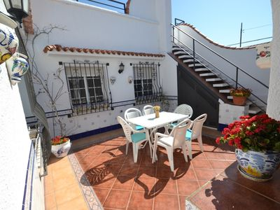 Photo for Casa Maite:Beautiful house with andaluz patio-Free wifi&satellite-Access walk to Cambrils's beach