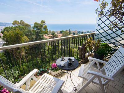 Photo for Apartment Abbaye de Roseland  in Nice, Cote d'Azur - 4 persons, 1 bedroom