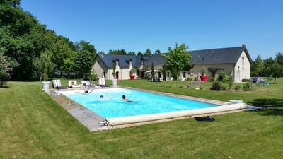 Photo for family home, ideal rest and tourism activities in Region Centre - Loire