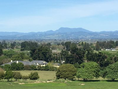 Photo for The Ranch, Incredible views of Sonoma County, acres of privacy sprawling over it's own hill top