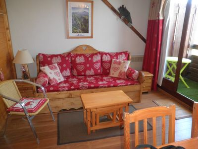 Photo for T2 apartment for 4 people in Alpe d'Huez, international resort