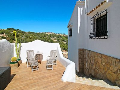 Photo for Vacation home El Falcó (MRA234) in Moraira - 7 persons, 3 bedrooms