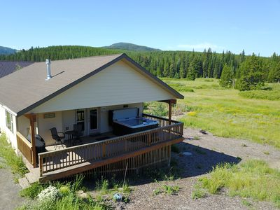 Photo for Picture Perfect Views of Lionshead from 6-Person Hot Tub & several living spaces